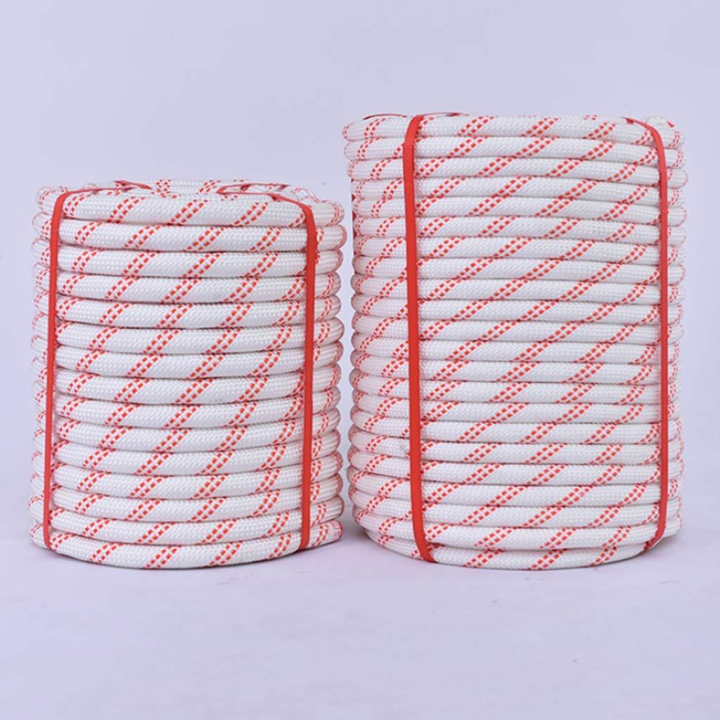 LIIHSG Seile 20 MM Outdoor-Seil korrosionsbest/ändig verschlei/ßfestes Nylon-Sonnenschutzmittel feuerhemmend hochfestes witterungsbest/ändig