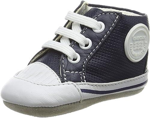 Geox B New Ian D, Chaussures de Naissance Bébé Garçon