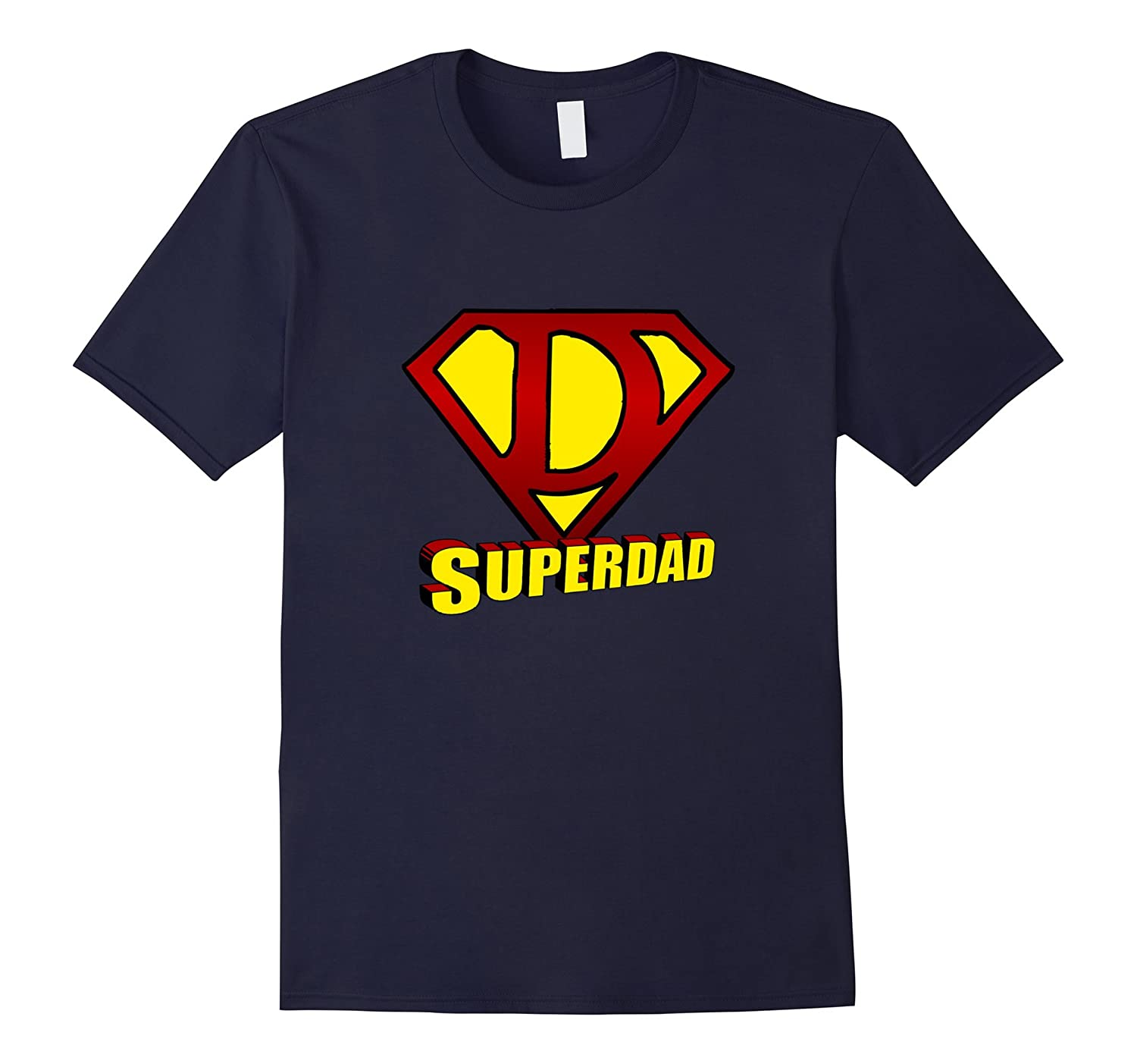 Mens Superdad T-shirt  Super Dad Shirt-TD