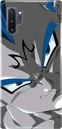 Case Me Up Coque téléphone pour Samsung Galaxy Note 10 [Plus] Dragon Ball Goku Son Gohan Vegeta 28 Dessins