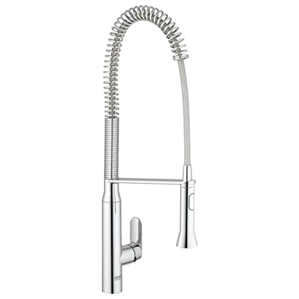 Grohe 32951000 K7 Semi-Pro Single-Handle Pull-Out Kitchen Faucet ...