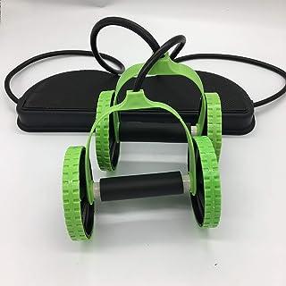 SUPRERHOUNG Multifonction Portable Rallye Rallye Bras Extenseur Appareil de Fitness Abdomen (Vert)