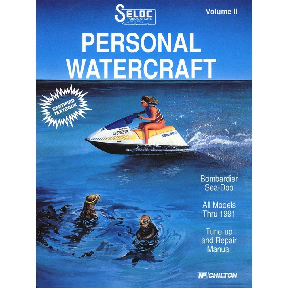 Amazon.com : SELOC SERVICE MANUAL SEA-DOO / BOMBARDIER 1988-91 : Boat  Covers : Sports & Outdoors