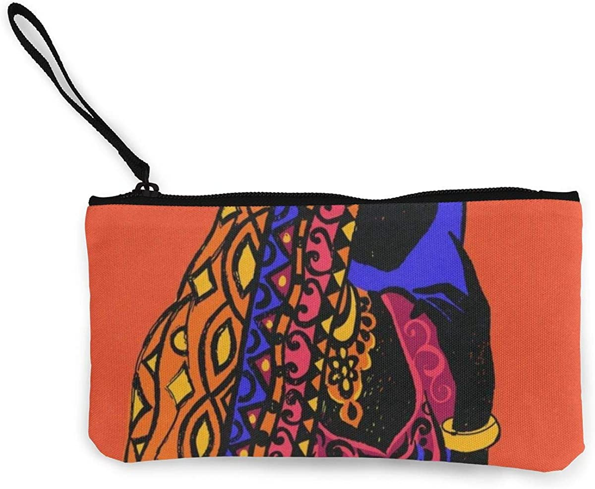 Coin Purse African Woman...