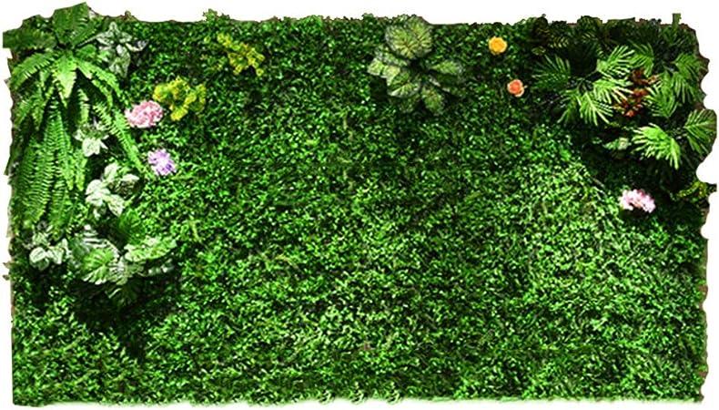 LVZAIXI Paneles De Plantas De Setos Artificiales Verdor De Privacidad Cercado De Césped De Detección for Jardín Exterior Valla Decoración Suelo De Pared (Color : D, Size : 100x100cm): Amazon.es: Hogar