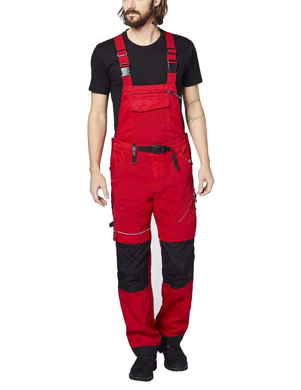 Expand 201510 Uomo Lavoro Salopette, Rosso, 50