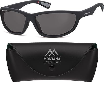 Gafas de sol Montana Eyewear Sunoptic SP312 en negro ...