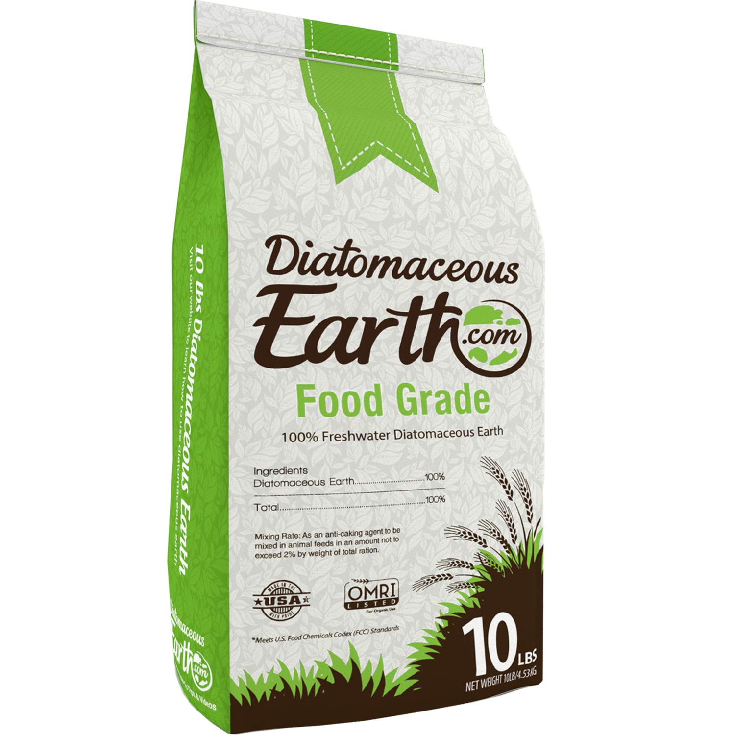 Amazoncom Diatomaceous Earth Food Grade 10 Lb Garden Outdoor
