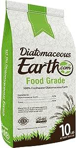 DiatomaceousEarth DE10, 100% Organic Food Grade Diamateous Earth Powder - Safe For Children & Pets 10 LBS