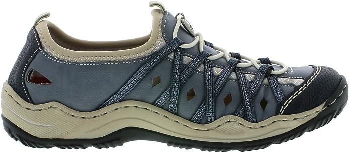 Rieker L0567 14, Sneakers Basses Femme