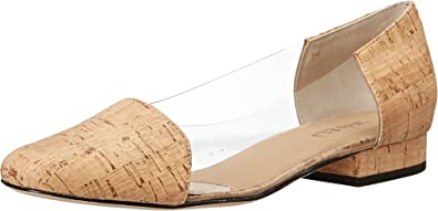 Great Womens Shoes Vaneli Farren Clear Vinyl/Natural Cork