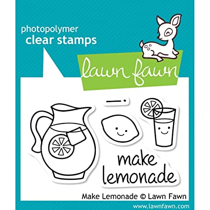Lawn Fawn Make Lemonade Stamp Set