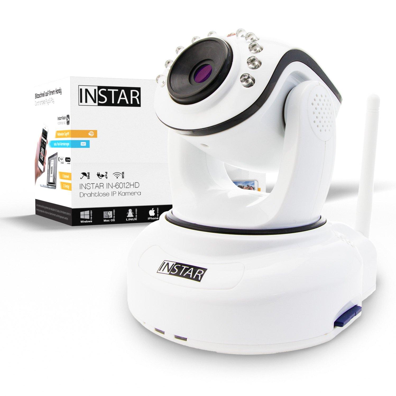 INSTAR IN HD Cámara IP sensor WDR WLAN MPx ledes IR W