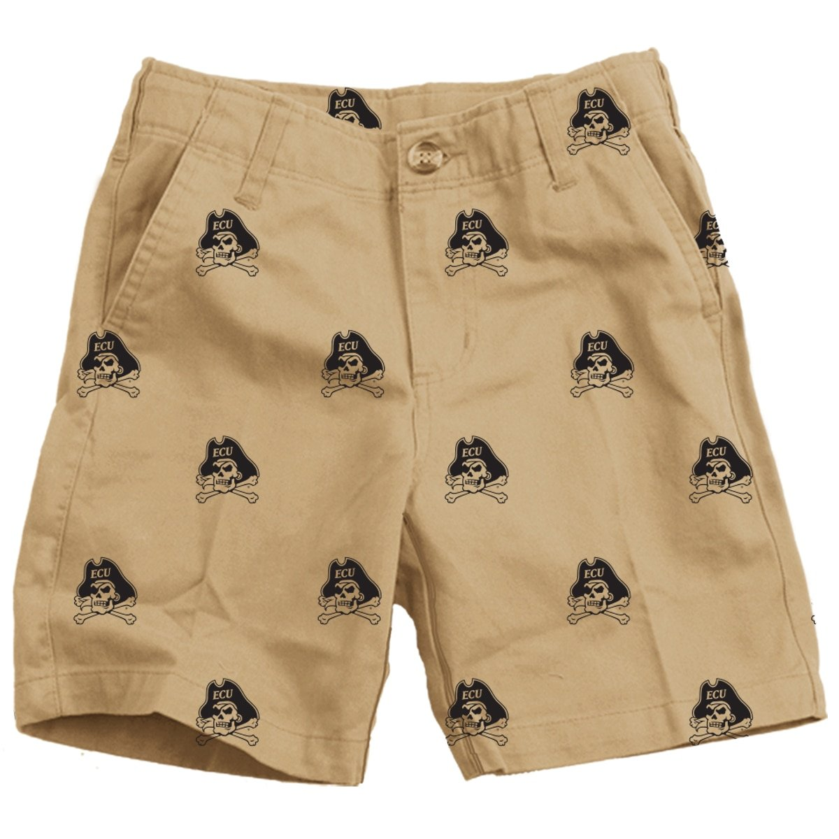 Wes and Willy ECU Pirates Embroidered Twill Short