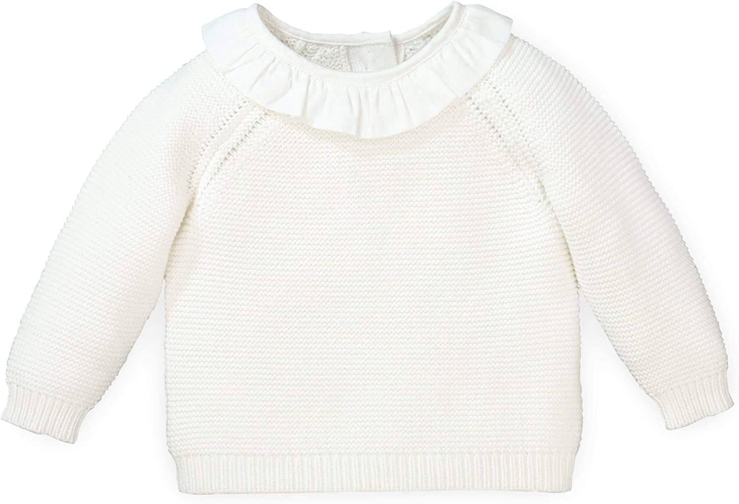 Bloomer Hope /& Henry Layette Long Sleeve Sweater and Bonnet 3-Piece Set