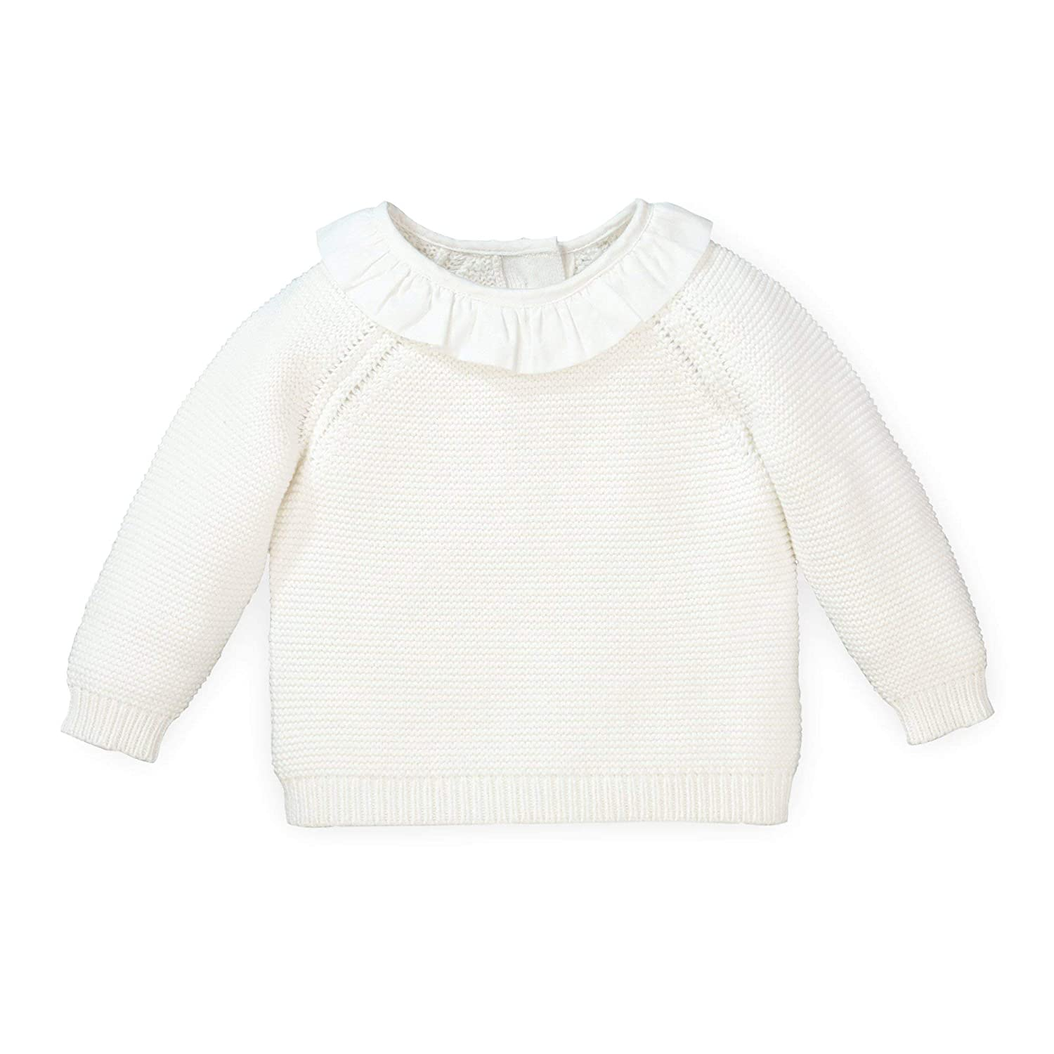 Bloomer and Bonnet 3-Piece Set Hope /& Henry Layette Long Sleeve Sweater