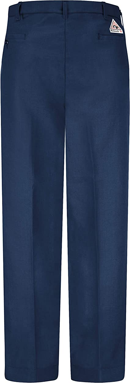 Amazon Com Bulwark Flame Resistant 6 Oz Nomex Iiia Mens Work Pant With Button Closure Clothing