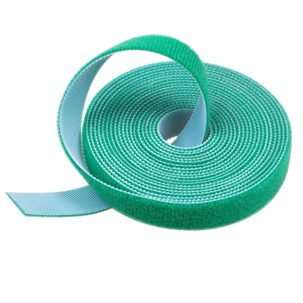 Aspire Wholesale Fastening Straps For Cable Management, 3/4'' x 3.3 Ft-Green-120 PCS