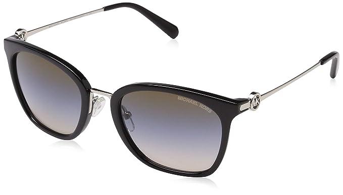 Michael Kors Lugano 3005m0 53 Gafas de sol, Black, Mujer ...