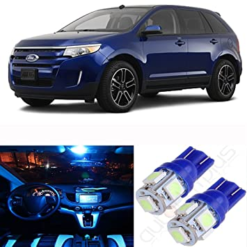 Cciyu Pcs Ice Blue Premium Led Interior Lights Package Kit Replacement Fit For Replacement Fit Ford