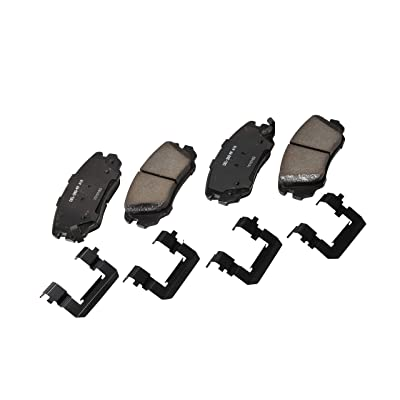 ACDelco 17D1421CH Professional Ceramic Front Disc Brake Pad Set: Automotive