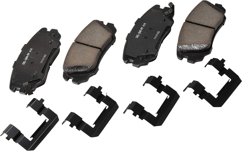 Disc Brake Pad Set-Pads Integrally Molded Organic Front Standard Premium