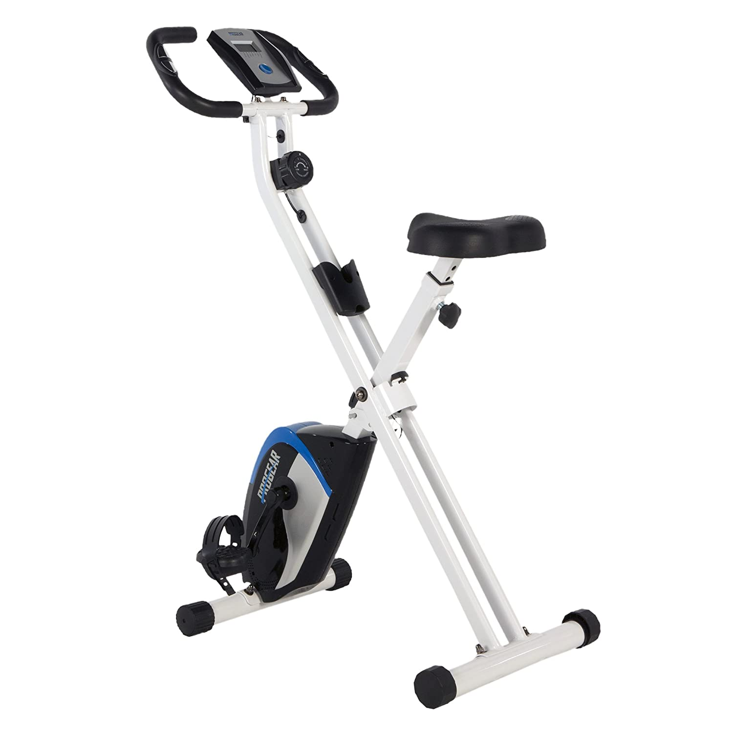 Sunny Health & Fitness Magnetic Folding Recumbent Bike Exercise Bike SF-RB1117