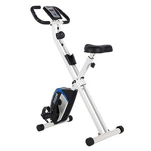 Simple upright exercise bike