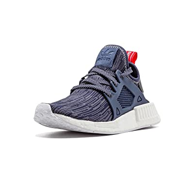 Adidas NMD XR1 PK Womens Primeknit Glitch Navy BB3685 US 7.5