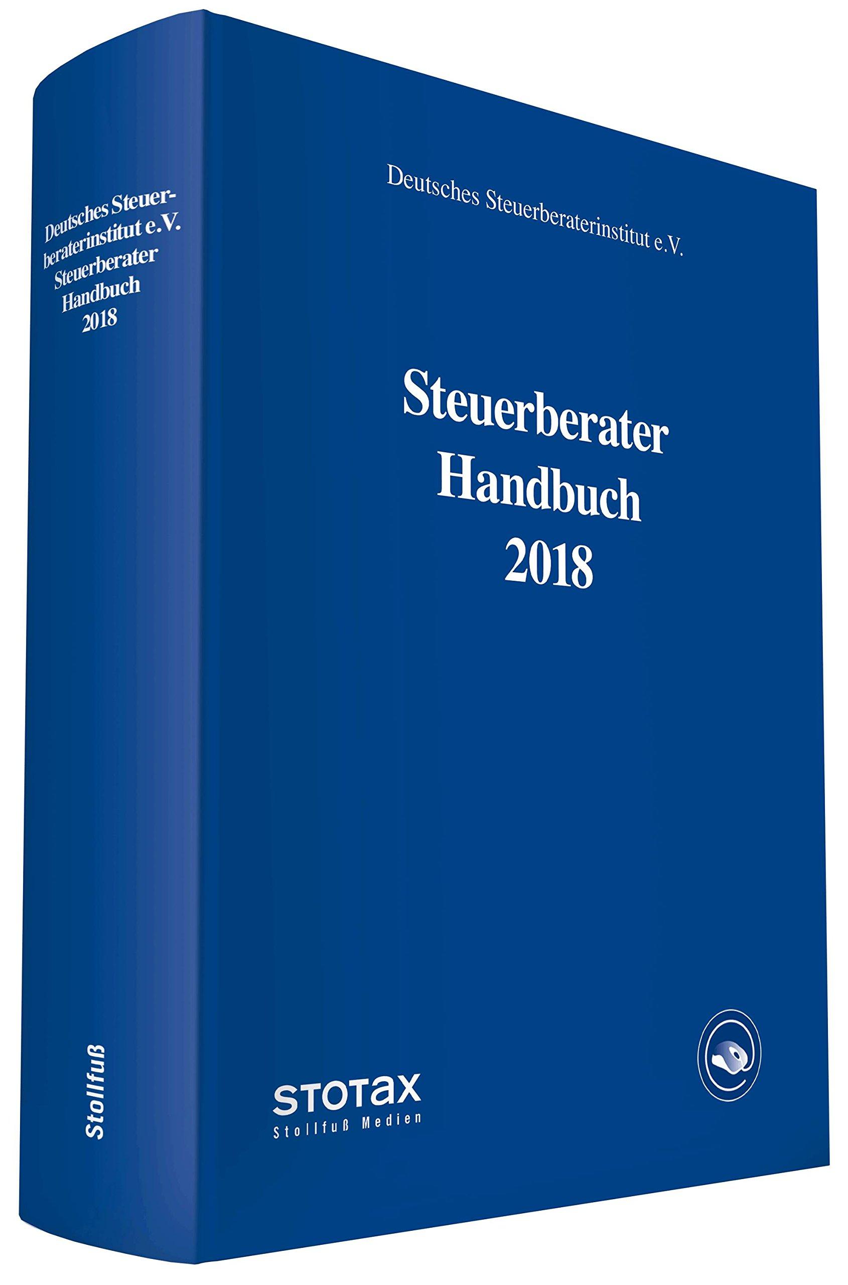 Steuerberater Handbuch 2018 Gebundenes Buch – 7. Mai 2018 Stollfuß 3083740182 Steuern Nachschlagewerke)