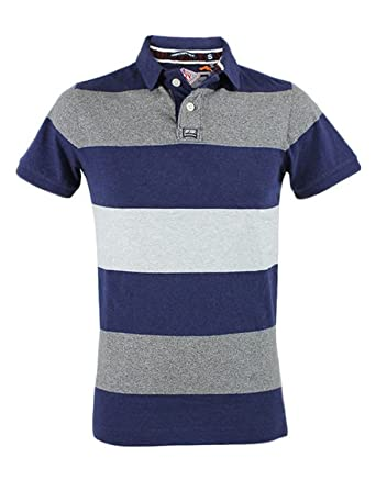 POLO SUPERDRY M11026ONF3 XDS MARINO talla M: Amazon.es: Ropa y ...