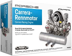 Franzis Porsche Carrera Racing Engine Model Kit with Collector's Book
