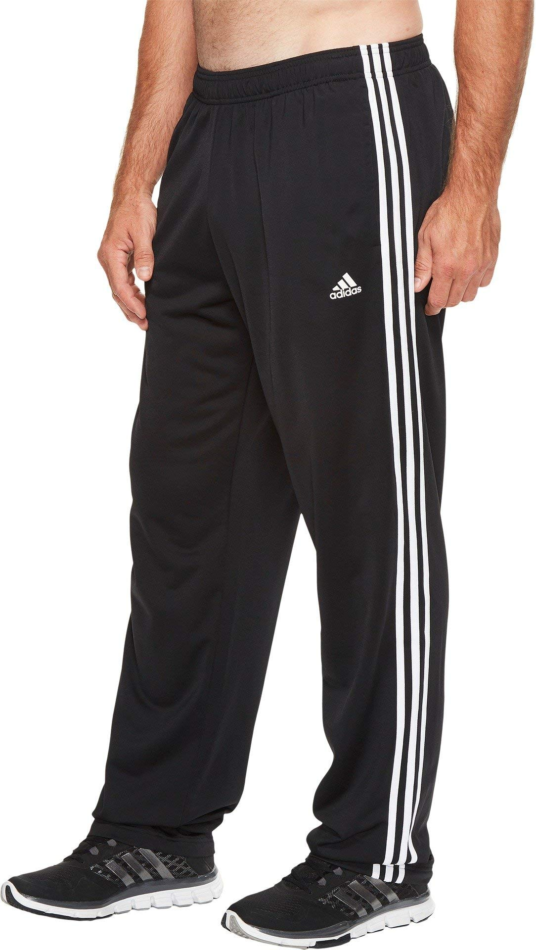 adidas Men's Athletics Essential Tricot 3 Stripe Tapered Pant