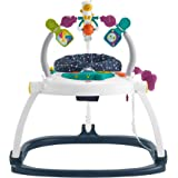 Fisher-Price Astro Kitty SpaceSaver Jumperoo, Space-Themed Infant Activity Center with Adjustable Bouncing seat, Lights, Musi