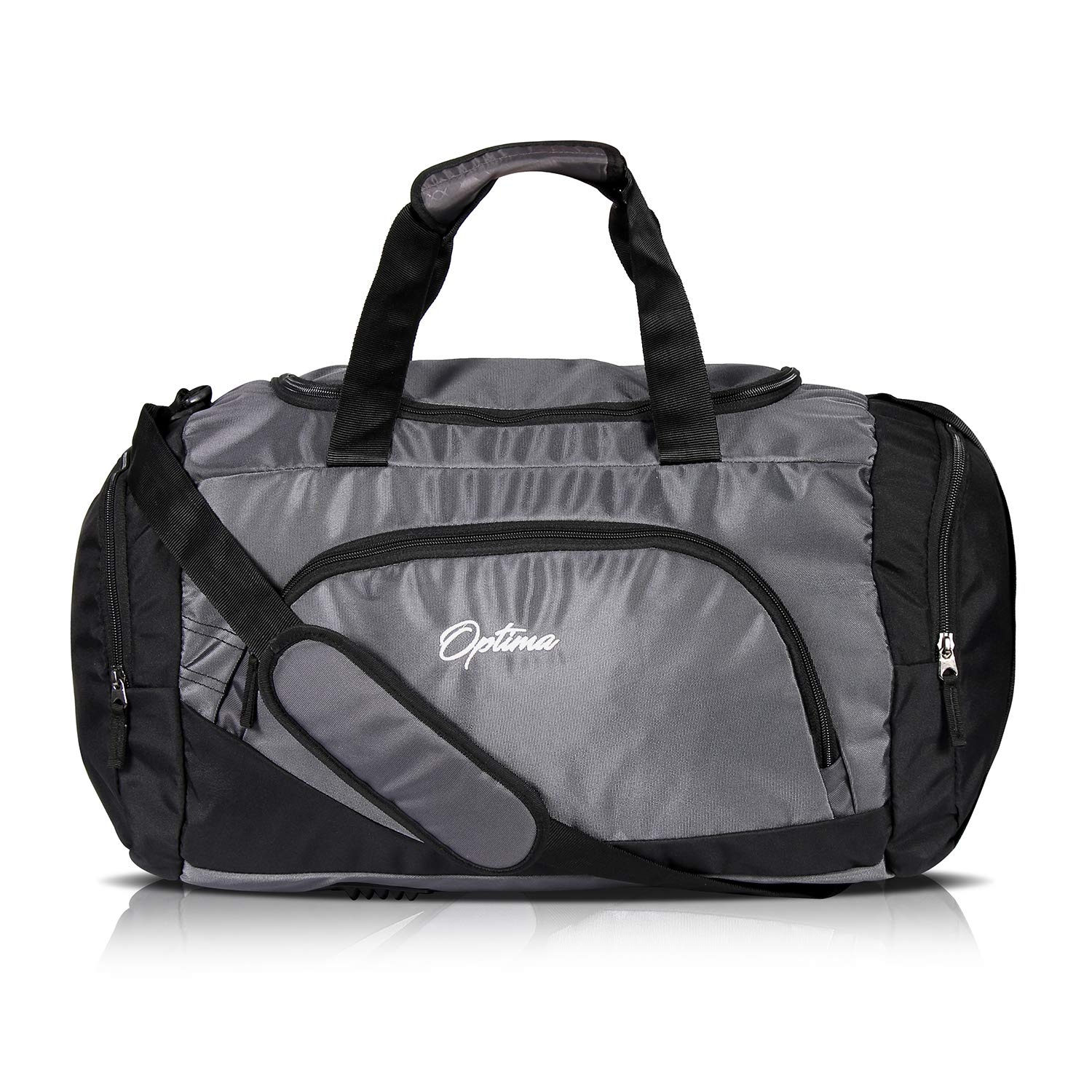 OPTIMA Polyester Duffle 31 L Small Travel Bag (Grey)  Amazon.in  Bags 7d8aab2ecb65c