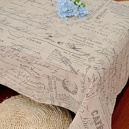 LF&F Tablecloths Stile Europeo Modello Alfabeto Inglese Tovaglia Di ...