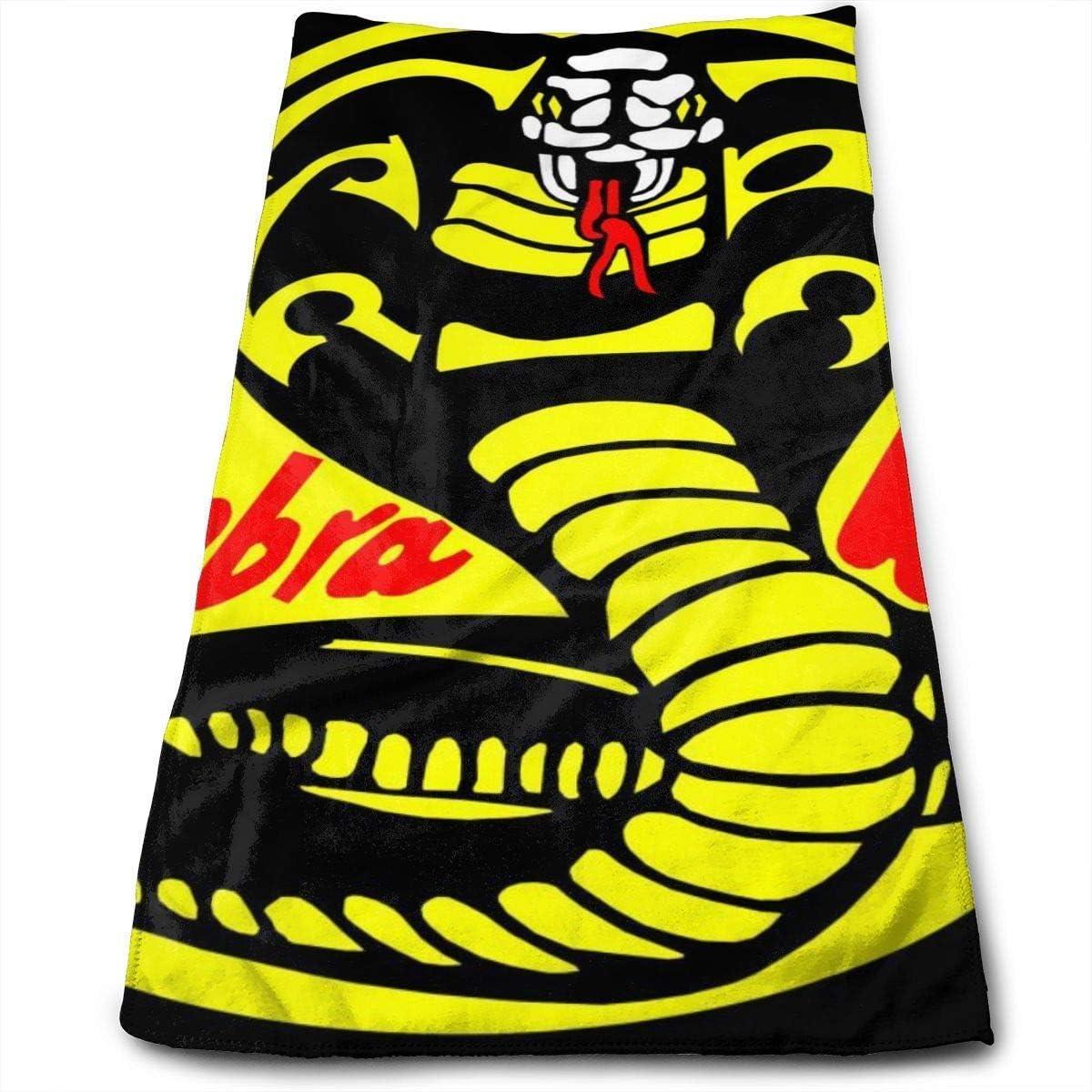 rtuuruyuy Badet/ücher Stranddecke Handtuch Cobra Kai Karate Dojo gro/ß weich Bett Strandtuch Badset Badzubeh/ör