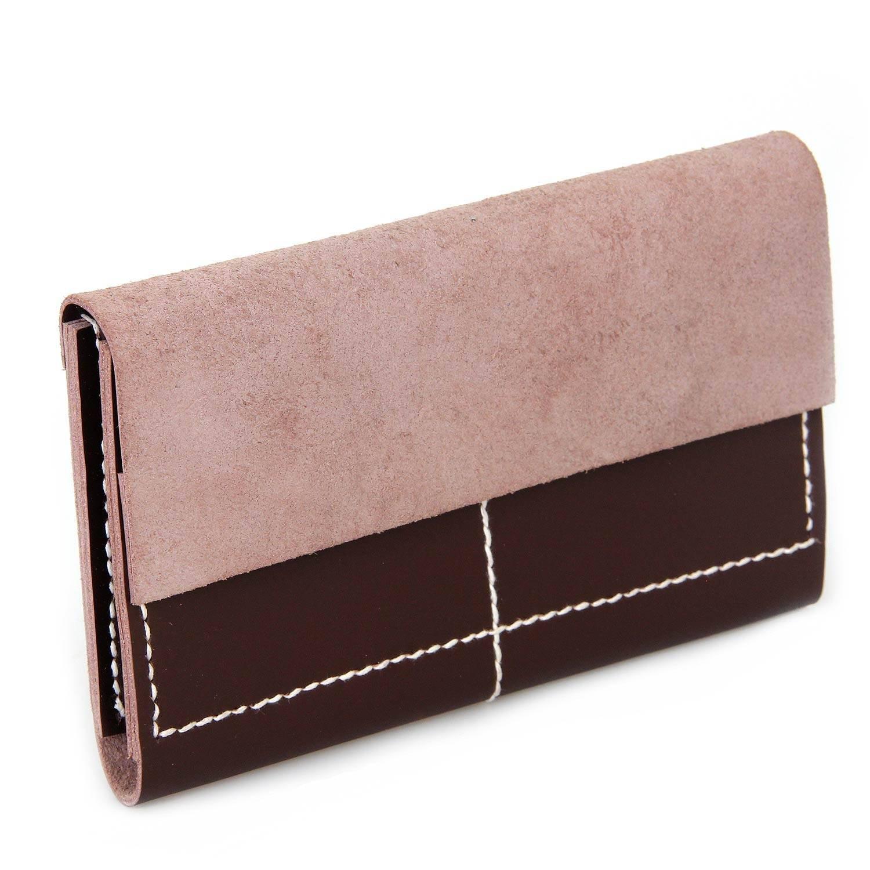 NOVICA Brown Leather Travel Wallet, 'Brown Voyage'