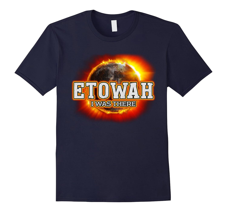 Etowah Total Solar Eclipse Event T Shirt 21 Aug 2017-CL