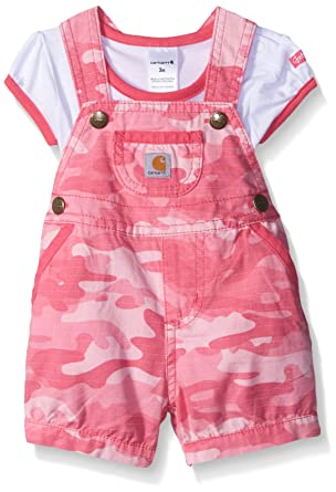 Baby Girl Camo Clothes Custom Amazon Carhartt Baby Girls' Sets Pink Camo 60 Months Clothing