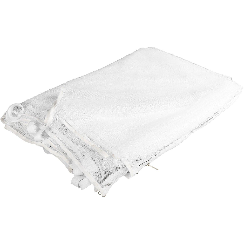 2X Cerniera con Velcro per Il Fissaggio del Pannello Laterale per Gazebo Scelta dei Colori Nero o Bianco INSTENT/® Zanzariera perPavilion 3x3
