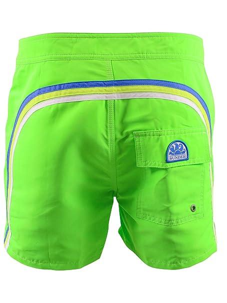 8cd3de820d94 SUNDEK Verde Short de baño Hombre 502: Amazon.es: Ropa y accesorios