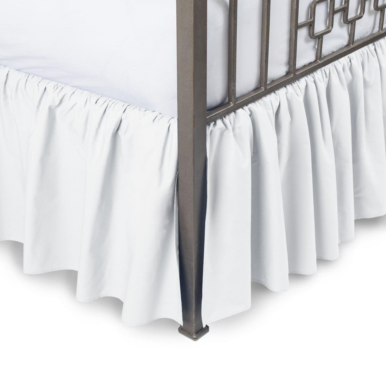 Vivaciousコレクションホテル品質800tc Pure綿ほこりフリル付きベッドスカート22