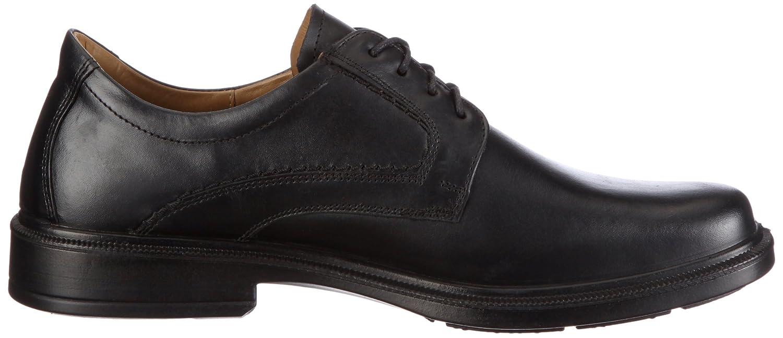 Jomos Strada 3 - Zapatos con cordones de cuero hombre, color marrón, talla 42