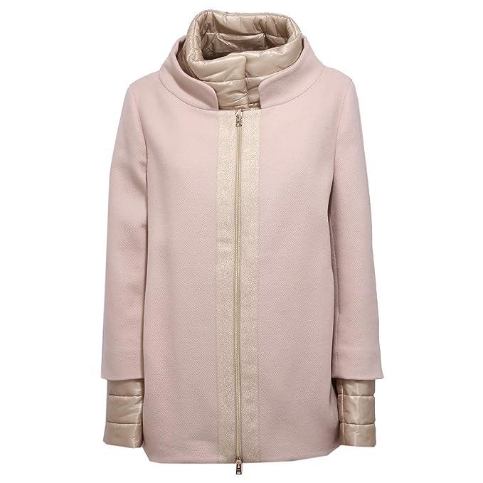Herno 7970X Cappotto Donna Pink Giubbotti Jacket Coat Woman  46   Amazon.it   Abbigliamento 5d0bcc08a73