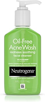 Neutrogena Oil-Free Facial Cleanser With Salicylic Acid, 6Fl. Oz