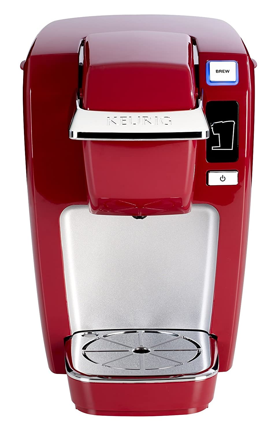 Amazon.com: Keurig K15 Single Serve Compact K-Cup Pod Coffee Maker, Red:  Kitchen & Dining
