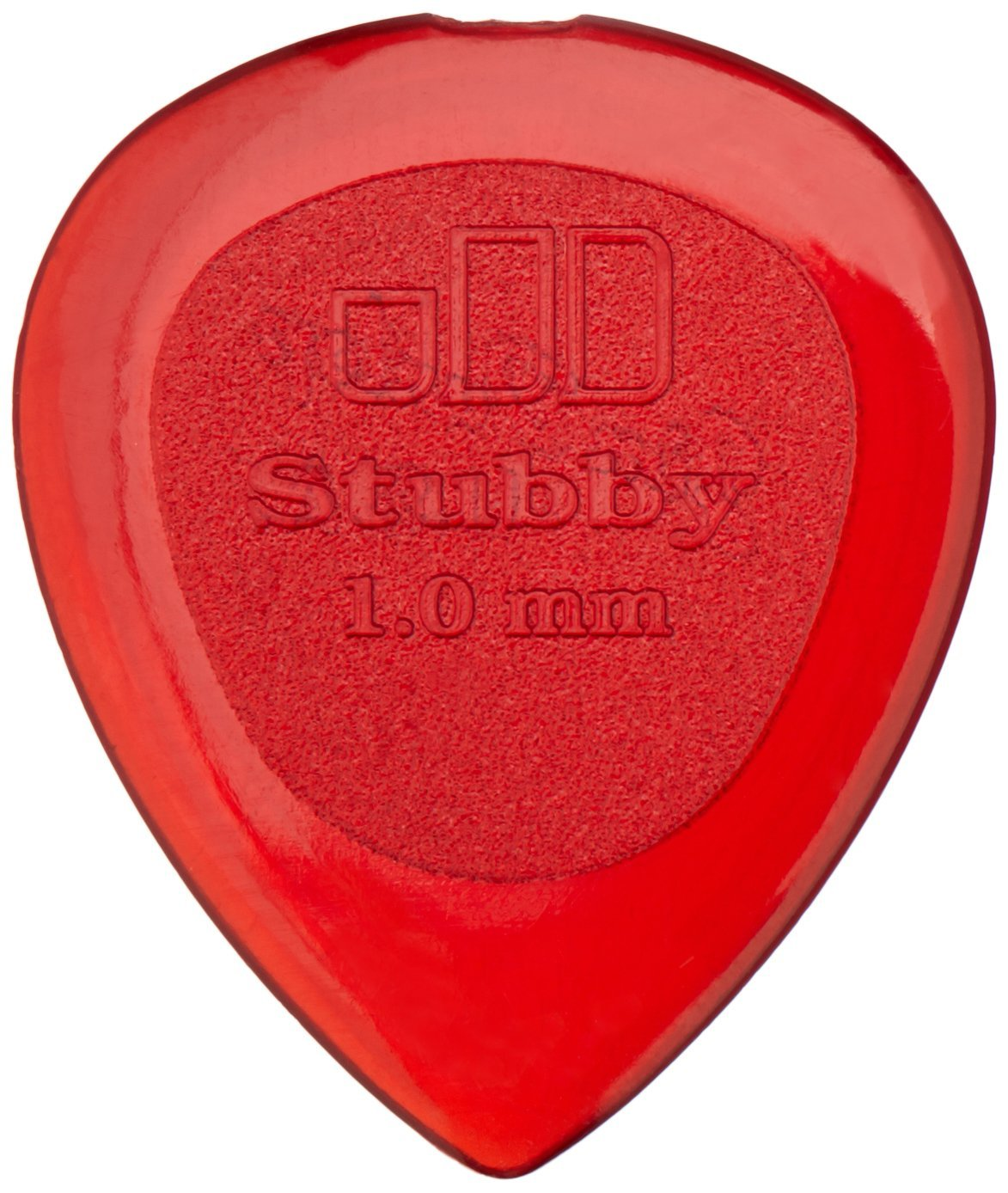 Dunlop 474R1.0 Stubby, Red, 1.0mm, 24/Bag