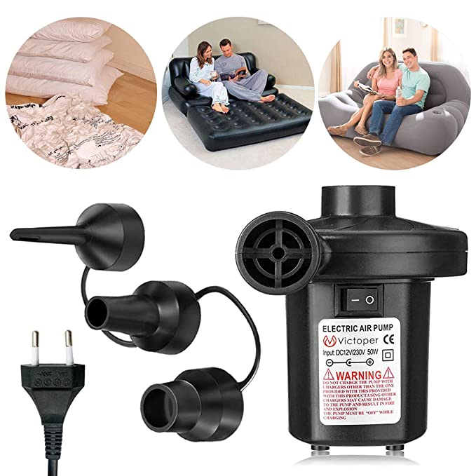 66 opinioni per Pompa elettrica per materasso gonfiabile- Wesho Elettriche Pompa Elettrico con