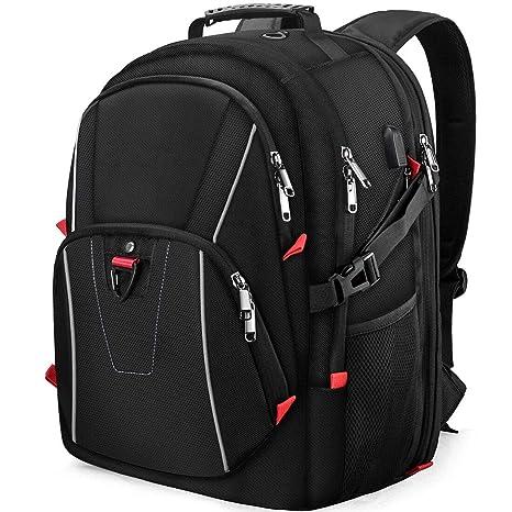 42ff32c2bb Zaino Porta PC 17,3 Pollici Laptop Viaggio Scuola Grande 17 Pollici Zaini da  Impermeabile